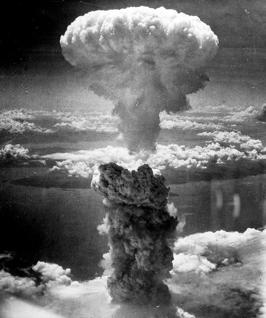 Explosión nuclear sobre Nagasaki