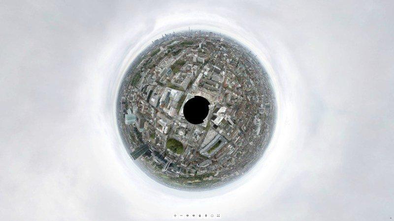 Espectacular panorámica de Londres