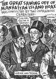 Caricatura de la leyenda