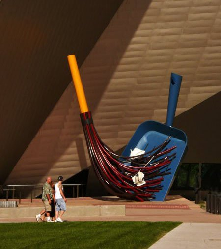 Una obra de Claes Oldenburg