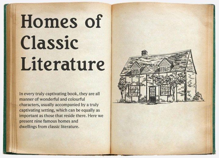Casas de la literatura clásica