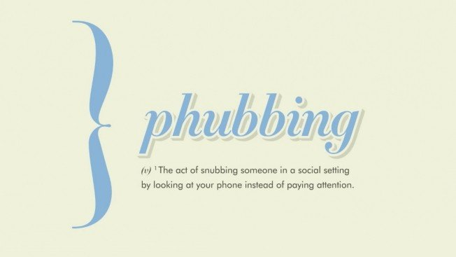 Definición de phubbing