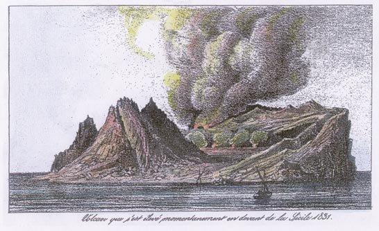 Dibujo de Ferdinandea