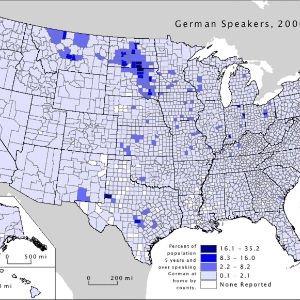 El alemán en EE.UU. en el año 2010