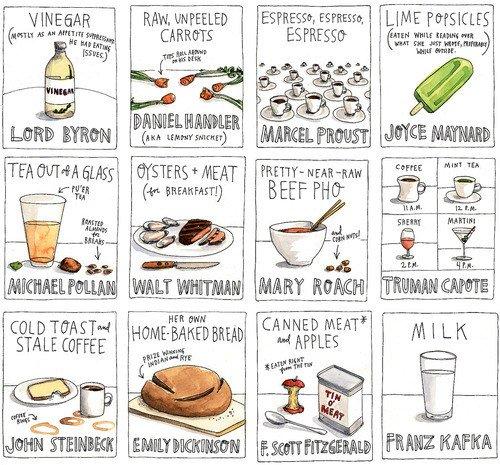 El aperitivo favorito de los escritores