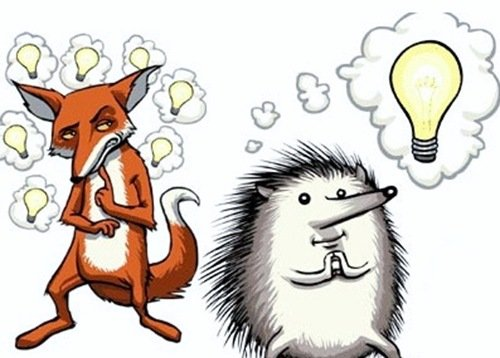 El erizo y el zorro