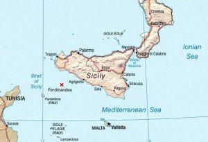 Localización de la isla