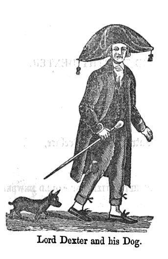 Lord Timothy Dexter y su perro