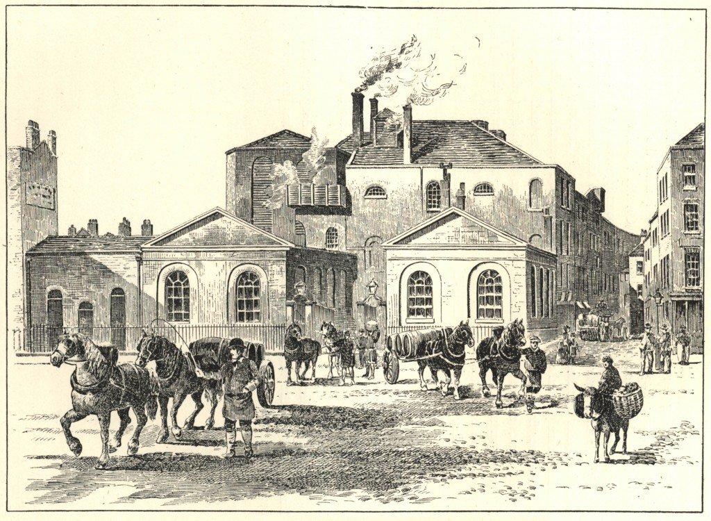 Cervecería Horse Shoe, en 1830