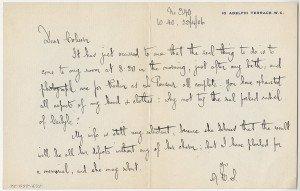 Nota de Bernard Shaw