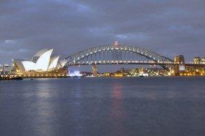 La ciudad de Sydney y su reconocible ópera