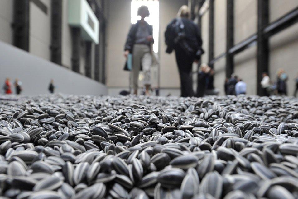 Las pipas de Ai Weiwei