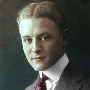 Scott Fitzgerald, autor de El gran Gatsby entre otros