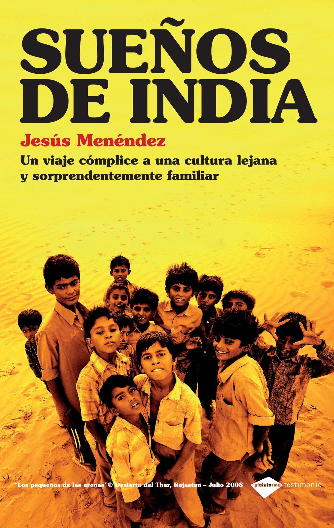 Portada del libro Sueños de India