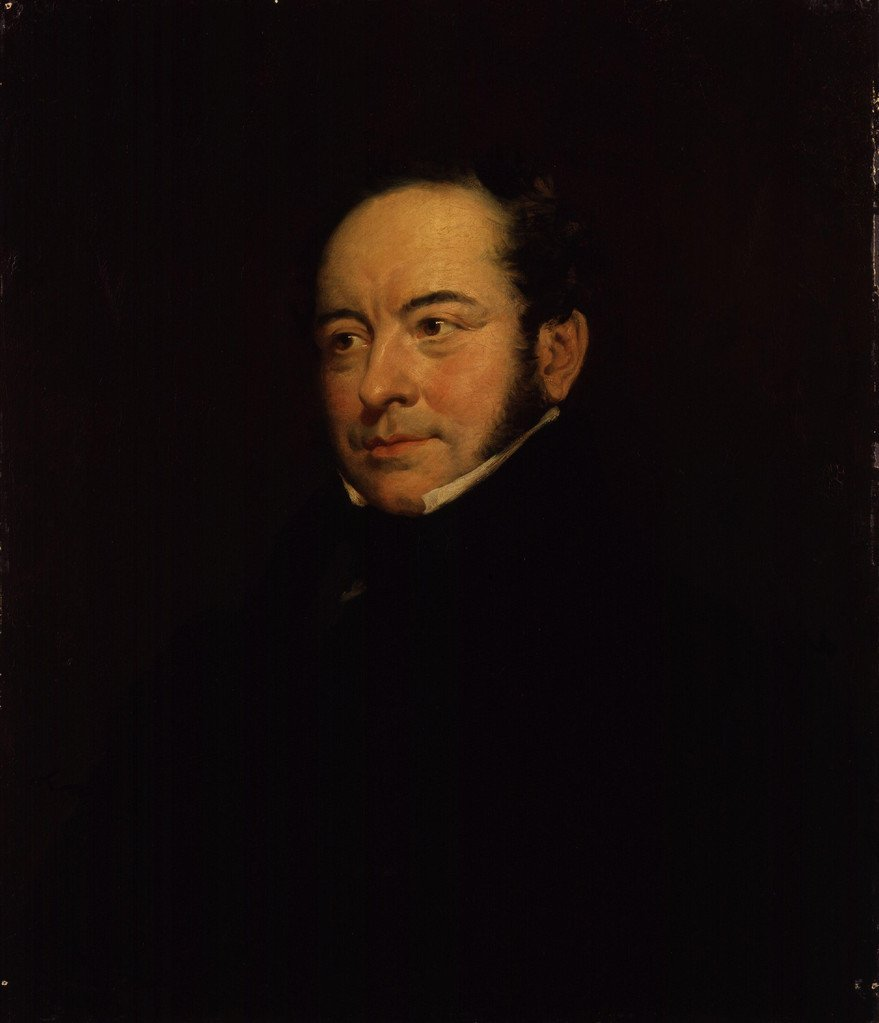 Theodore Hook, retrato de Eden Upton Eddis