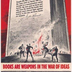 Los libros son armas en la guerra de las ideas