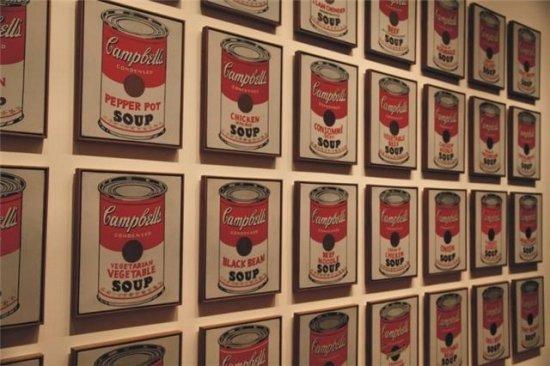 Latas de sopa Campbell´s