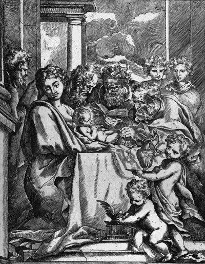 La circuncisión de Cristo de Bartolomeo Biscaino, siglo XVII