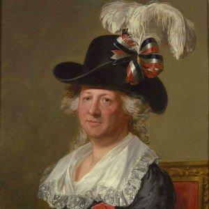 Retrato del 'Chevallier d'Eón' por Thomas Stewart