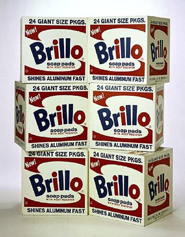 Las Brillo Box