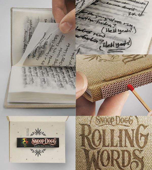El libro que se fuma