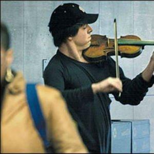 Joshua Bell en el metro