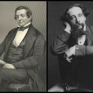 Washington Irving y Charles Dickens
