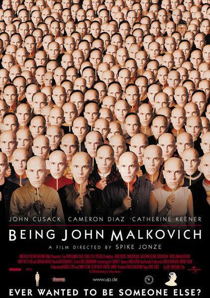 Cartel de Cómo ser John Malkovich