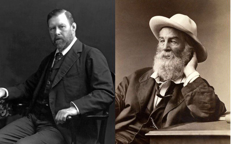 Bram Stoker y Walt Whitman