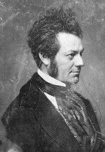Daguerrotipo de Edwin Forrest obra de Mathew Brady