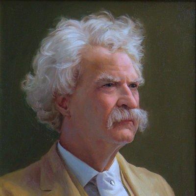 Mark Twain, por Ken Corbett