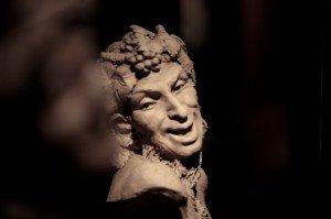 Fauno del Museo de la Cultura del Vino Vivanco