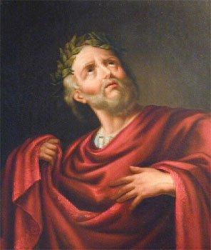 William Macready como Virginio