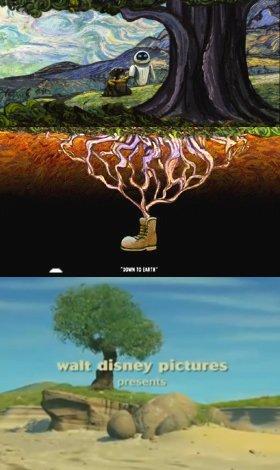 El brote de Wall-E es el árbol de Bichos