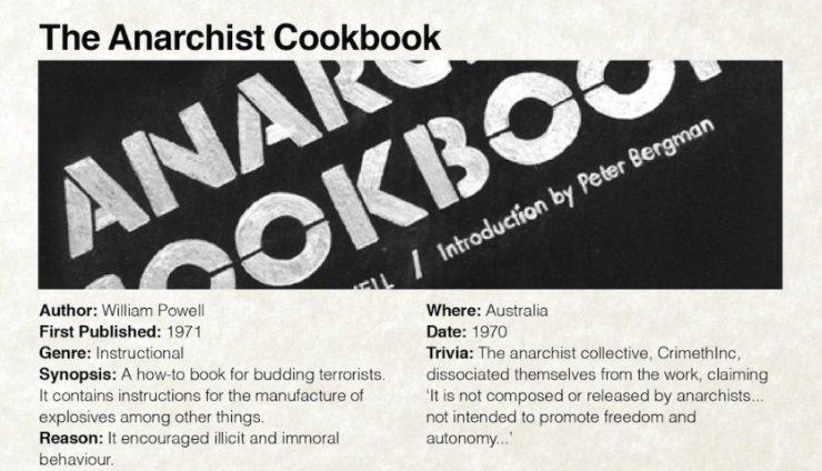 El libro de cocina del anarquista