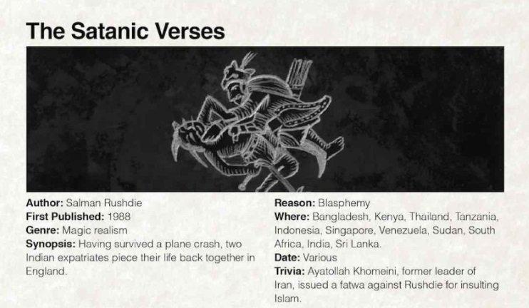 satanic verses essays The satanic verses essay begins the satanic verses the satanic verses or a satanic novel the moral dilemmas of the rushdie affair.