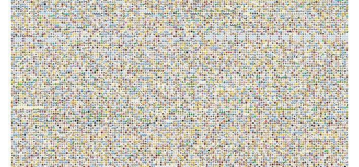 Alicia en el País de las Maravillas en más de 25.000 emojis