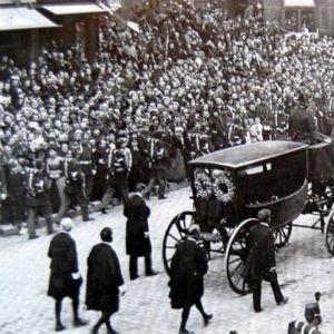 El entierro de Victor Hugo