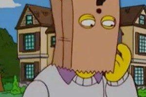 Thomas Pynchon en Los Simpsons