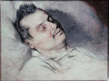 La muerte de Balzac por Eugene Pierre Francois Giraud