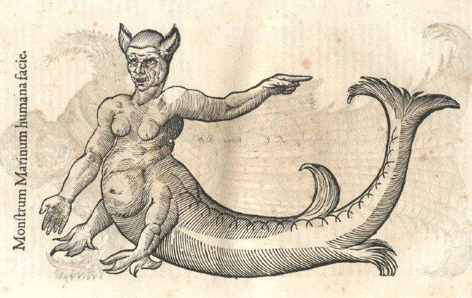 Un extraño libro sobre monstruos del siglo XVI
