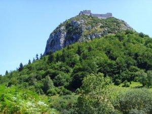 El castillo de Montsegur, último bastión de los cátaros