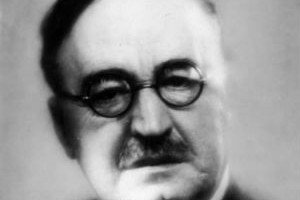 Fotografía de Blasco Ibáñez aparecida en la revista Life en 1920