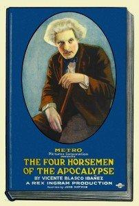 Cartel de la película Los Cuatro Jinetes del Apocalipsis de 1921