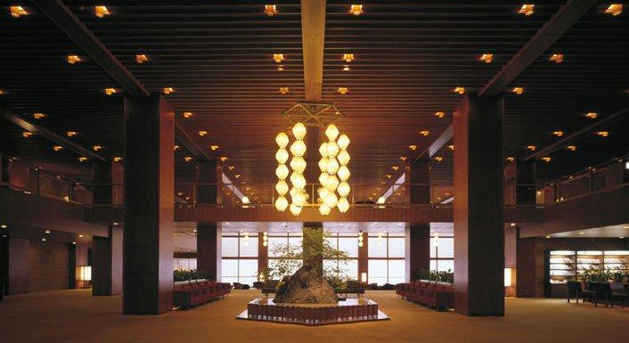 Hall del Hotel Okura (Japón)