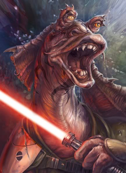 1. Jar Jar Binks como un posible Sith