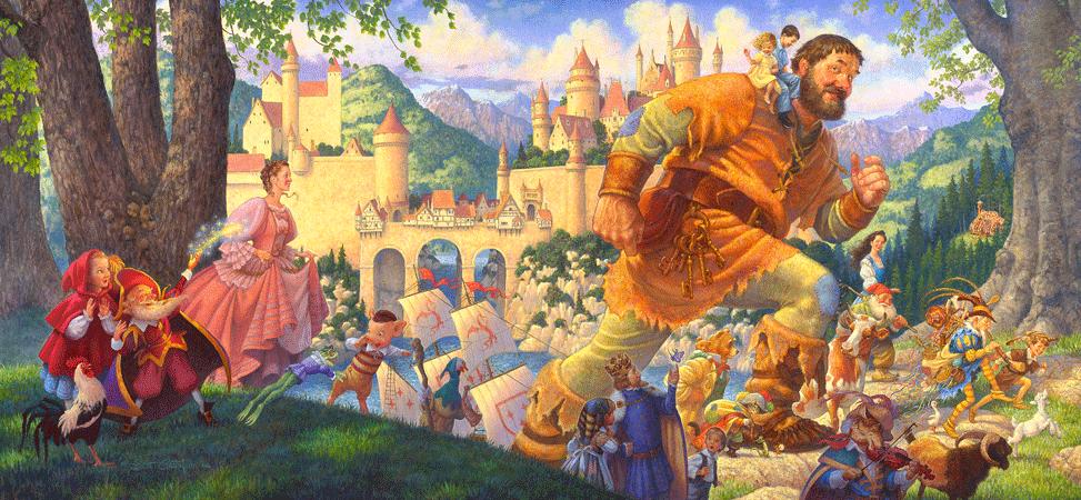 Ilustración de cuentos de hadas