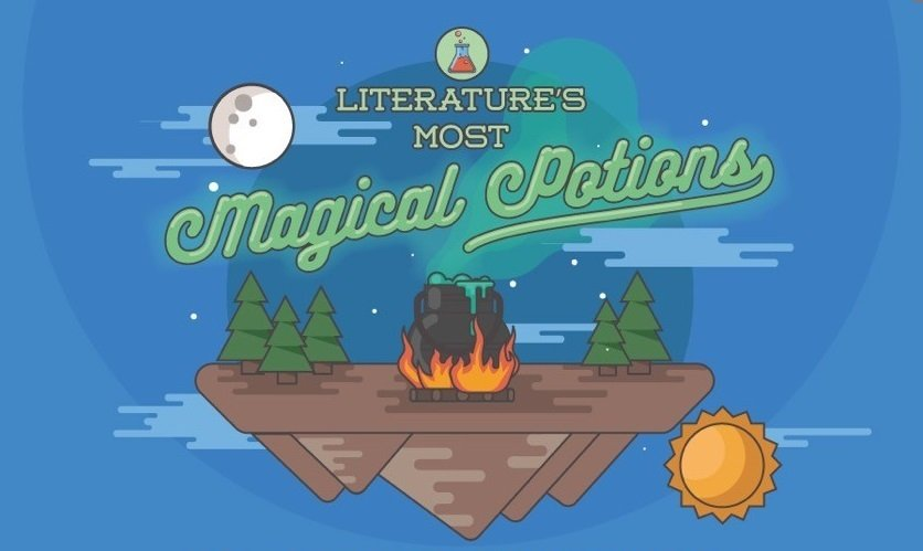 Las pociones mágicas más famosas de la literatura