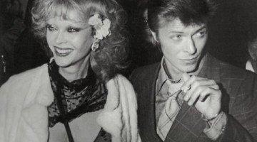 David Bowie y su musa transexual