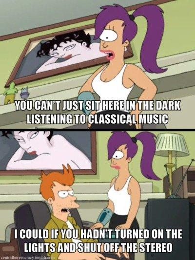 Futurama Música clásica